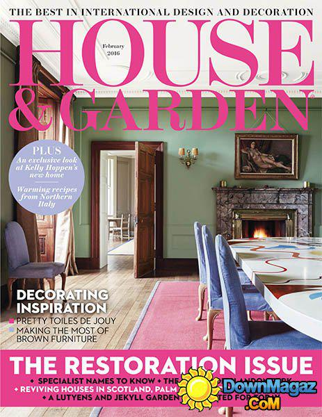 House and Garden front page